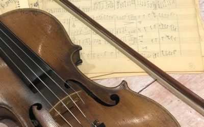 One man and his violin… in the world of tech